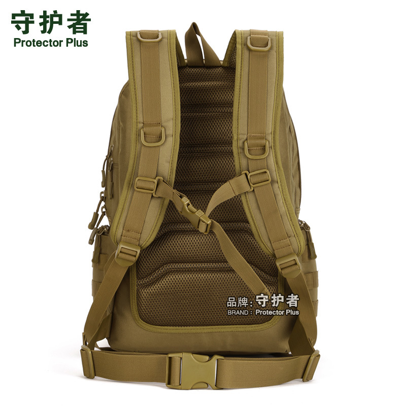 Protector Plus outdoor backpack tactical backpack assault bag computer backpack professional mountaineering bag luggage bag 40L in Climbing Bags from Sports Entertainment