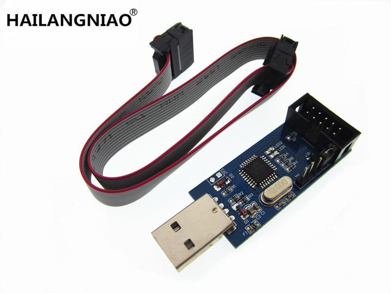 1pcs New USBASP USBISP AVR Programmer USB ISP USB ASP Support Win7 64K