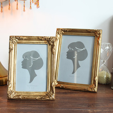 Derlook gold fashion 67 photo frame swing decoration log home rustic nostalgic