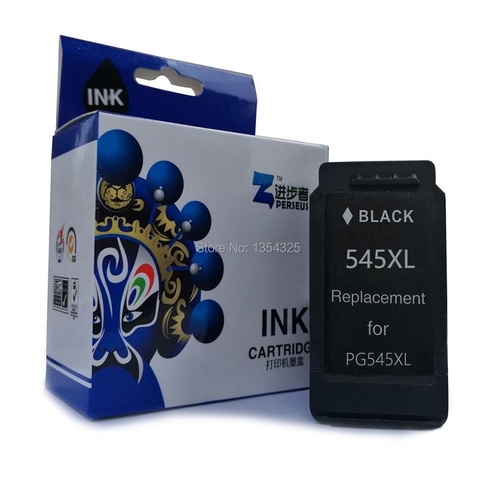 Perseus cartuccia di inchiostro per canon pg-545xl pg545xl stampante nero pieno per canon pixma mg2450 mg2550 ip2850 mx495 grade a +