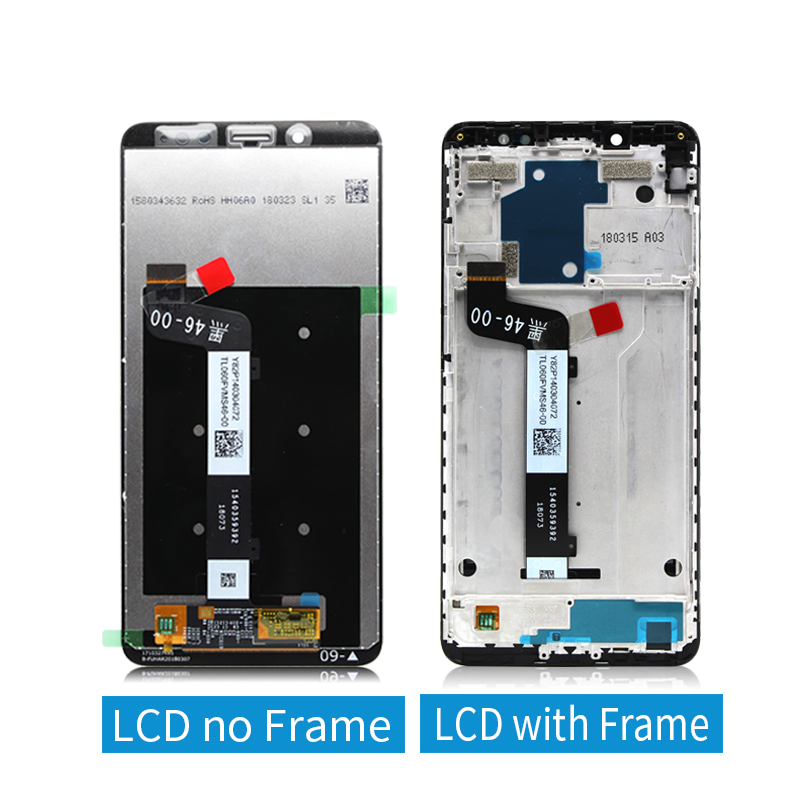 Original for Xiaomi Redmi Note 5 lcd Digitizer assembly with Frame 10Touch for Redmi Note 5 pro display Replacement Repair Parts