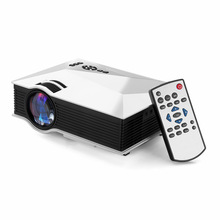 Neue Wifi Mini tragbare projektor Volles HD 1080 P 3D UC46 Heimkino beamer projetor HDMI SD video Digitaler projektor LED proyector