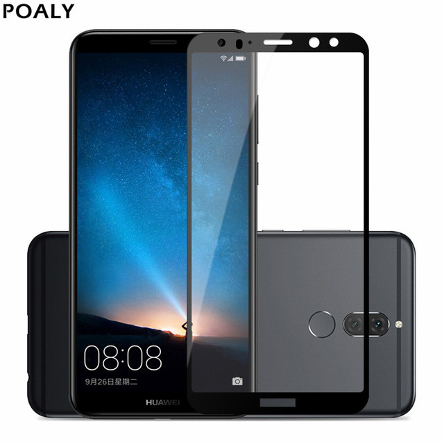 new product aa533 a2a79 US $3.7 20% OFF|2pcs For Huawei Mate 10 Lite Tempered Glass Screen  Protector Film Full Cover Tempered Glass For Huawei Mate 10 Lite Mate10  lite-in ...