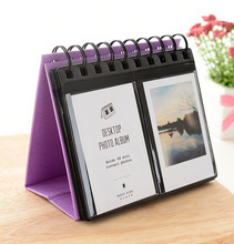 68 Pockets Polyester Instant Photo Album Picture Case for Fujifilm Instax Mini Film for credit card size book