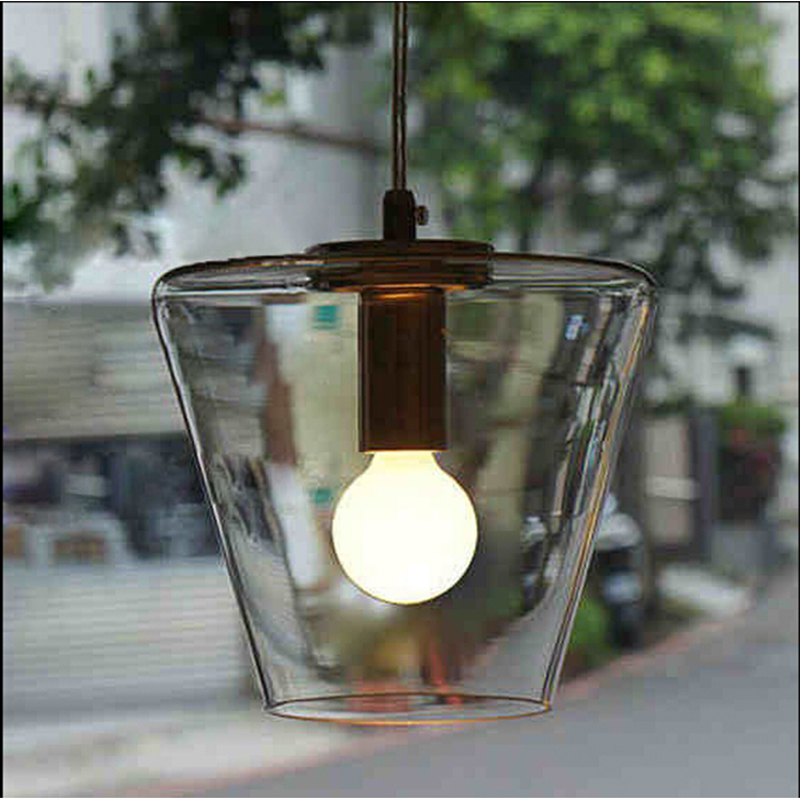 Antique retro modern glass Pendant Lights bar restaurant 18 cm living Rome transparent glass lights Pendant lamps FG295 LU1020 tiffnay beautiful retro bar entrance lamps club pendant lights western style food restaurant art mosaic glass pendants df136