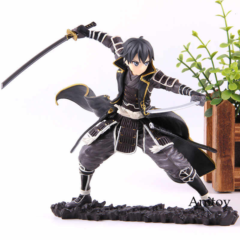 Anime Espada de Arte Em Linha SAO Kirito PVC Action Figure Toy Model Collection