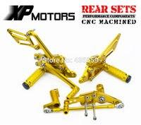 NICECNC CNC Заготовка подножки для ног Сзади наборы для ухода за кожей для Honda CBR1000RR Fireblade 2008 2016 CBR 1000RR CBR1000 RR