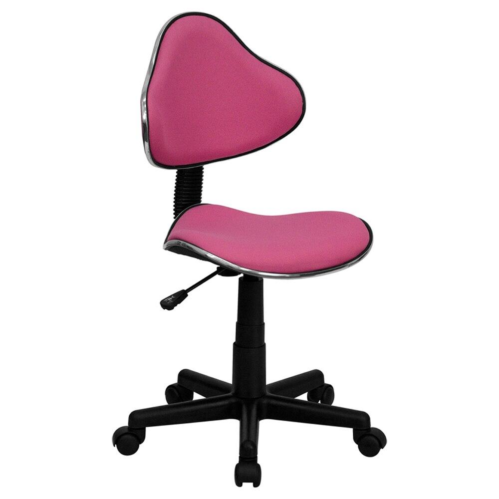 Flash мебель розовой ткани эргономичный стул [863-BT-699-PINK-GG]