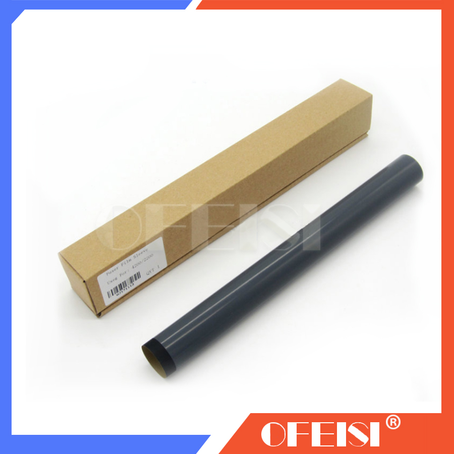 Free shipping GradeA Quality laser jet for <font><b>HP1320</b></font> 1160 P2015 2727 Fuser Film Sleeve RM1-1289-Film printer part on sale image