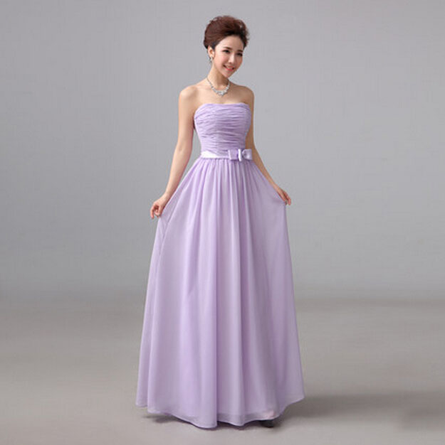 Popular Strapless Purple Prom Dresses-Buy Cheap Strapless Purple ...