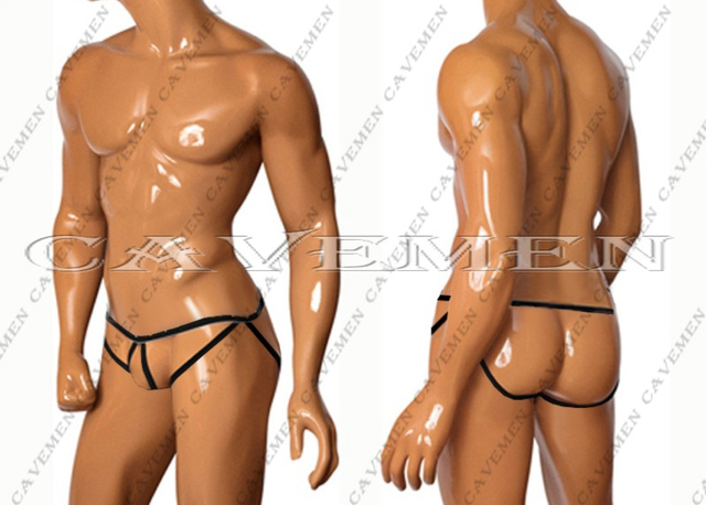 Os homens das cavernas oficial pólo linha vazia * 3144 * sexy lingerie t-voltar thong g-corda t calças dos homens breve underwear frete grátis