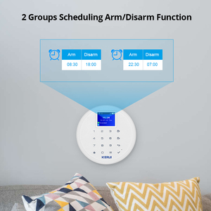 Image 5 - New KERUI W17 EN RU ES DE IT FR Switchable GSM Wifi Alarm System for Home In Alarm System kit with Android Ios APP Control