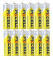 Original 12 unids/lote pkcell aa ni-mh 1.2 v 1300 mah batería recargable para accesorios electrónicos para juguete de los niños + envío gratis