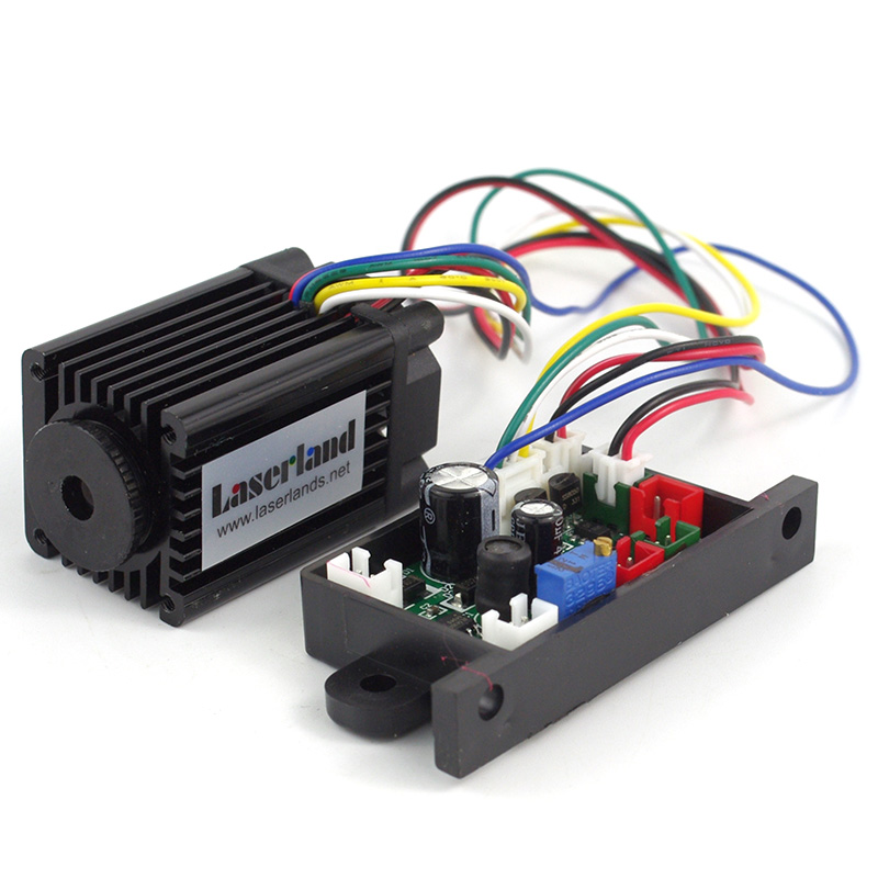532nm 100mw 150-200mw Green Laser Dot Module Diode Stage Lighting Long Duty 12VDC TTL