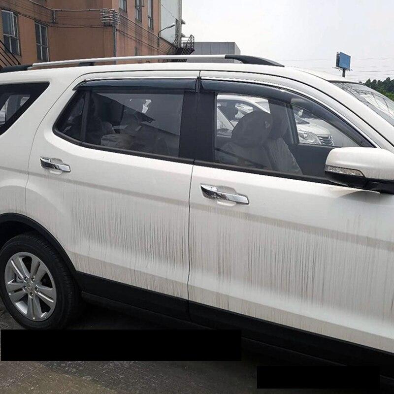 Lsrtw2017 ppma matériel voiture fenêtre pare-pluie pour chang'an cs75 cs35 cx70 cx20 2014 2015 2016 2017 2018 2019