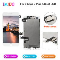 3PCS Full Set LCD Display For iPhone 7 Plus LCD Display Touch Screen +Front camera Digitizer Assembly Replacement