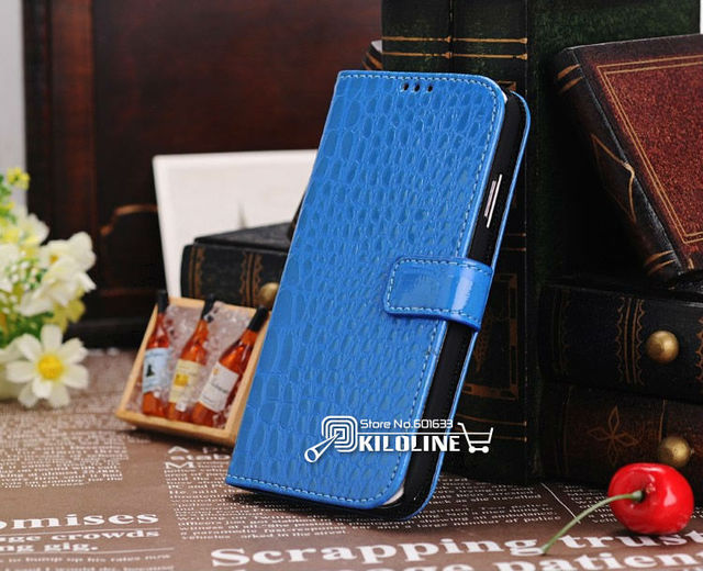 High Quality Crocodile Pattern leather Case Cover for Samsung Galaxy S4 S IV i9500