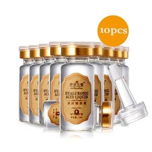Image 5 - Soro Facial Umidade Ácido Hialurônico Vitaminas Soro Rosto Cuidados Com A Pele Anti Rugas Anti Envelhecimento Colágeno Essência 10 ml * 10 pcs