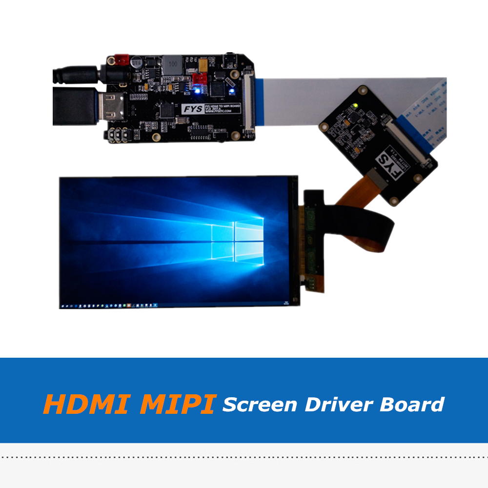 5.5inch 2K LS055R1SX03 LCD Screen Display with HDMI MIPI Driver Board Set For SLA DLP 3D Printer / VR original spare parts modul lcd for 3d printer wanhao duplicator 7 5 5 inch 2k screen display and hdmi mipi driver board