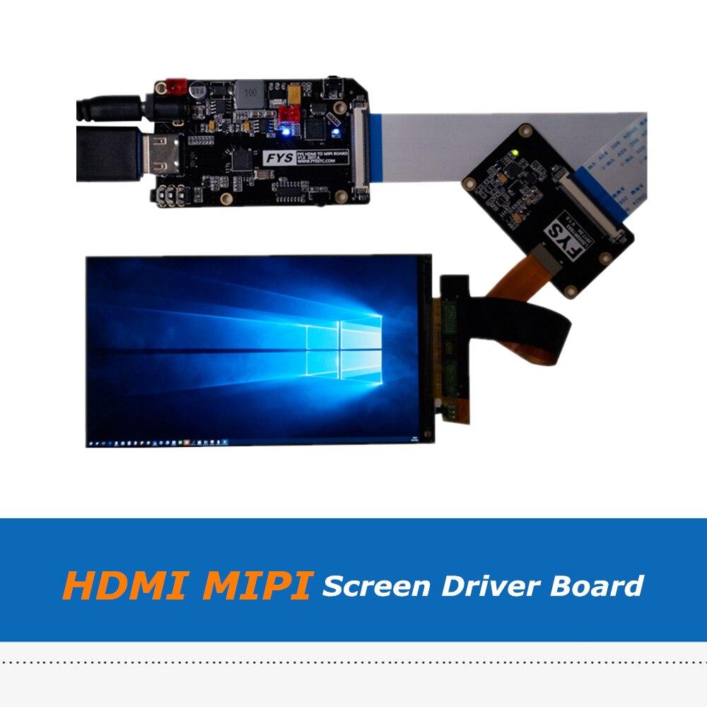 5,5 дюйма 2 К LS055R1SX03 ЖК дисплей Экран Дисплей с HDMI MIPI драйвер платы набор для SLA DLP 3D принтеры/VR