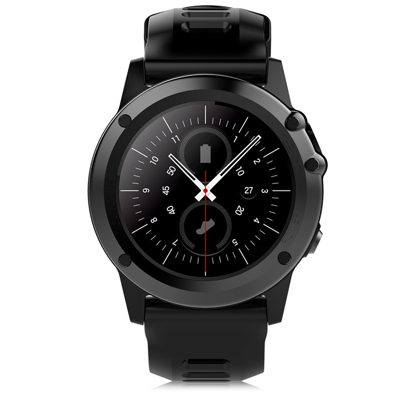 Microwear H1 3G Smartwatch Telefon Android 4.4 MTK6572 Dual Core 1,2 GHz 512 MB 4 GB ROM IP68 Wasserdicht 2.0MP kamera Pedometer