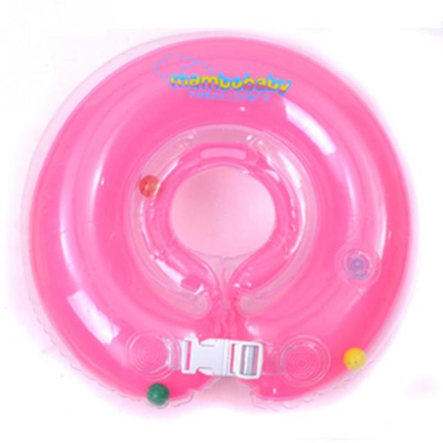 Mambo baby 10.5cm Round Baby Infant Swimming Neck Ring Safety Float Inflatabler Ring Newest