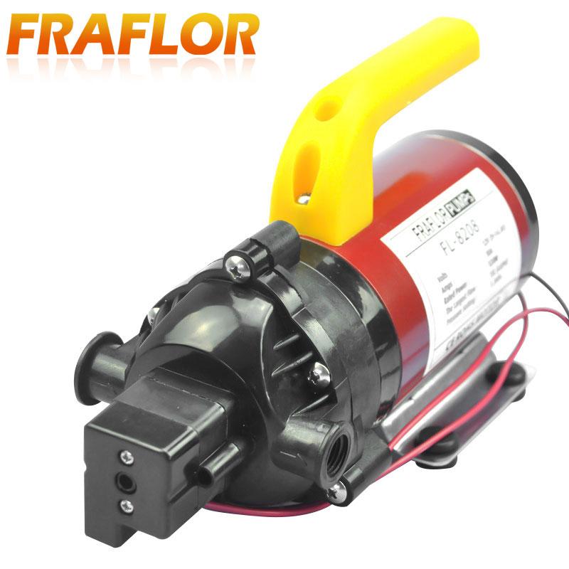 DC 120W Automatic Switch Micro Diaphragm Pump High Pressure Electric Water Pump Mini Self-priming Sprayer Car Washer Pump