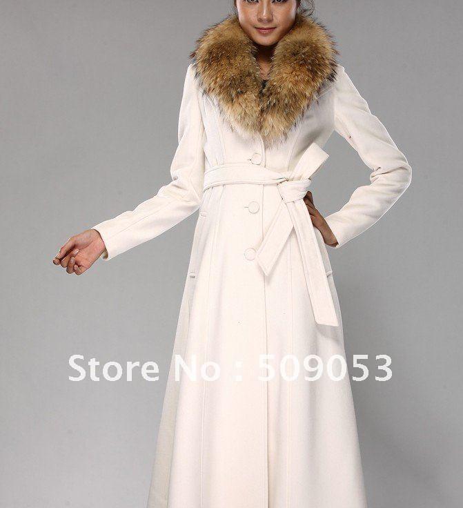 Women Coat, Warm Winter Women Coat, Full length Cashmere Coat ...