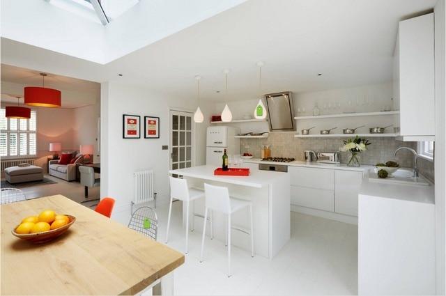 2017 sprühfarbe küchenzeile lacquere modulare küchenschränke China ...
