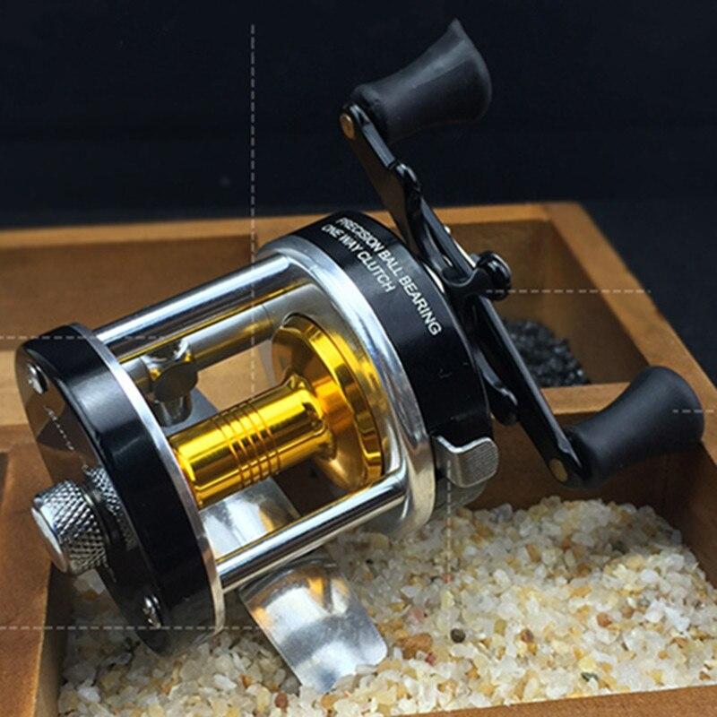 2018 хорошее качество Китайский металлический корпус троллинг рыбалка Baitcast Катушки