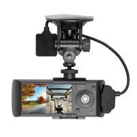 Car DVR/Dash Camera Dual Lens 2.7in LCD HD Car Auto DVR Camera GPS Logger G sensor Dash Car Camera Video Recorder