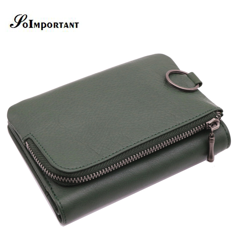 New Magic Wallet Purse Genuine Leather Men Wallets Luxury Brand Men Walet Portomonee Card Holder Clutch Male Perse Key Holder