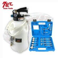 10l penumatic ar motor engrenagem extrator de óleo distribuidor com 13 peças atf adaptadores