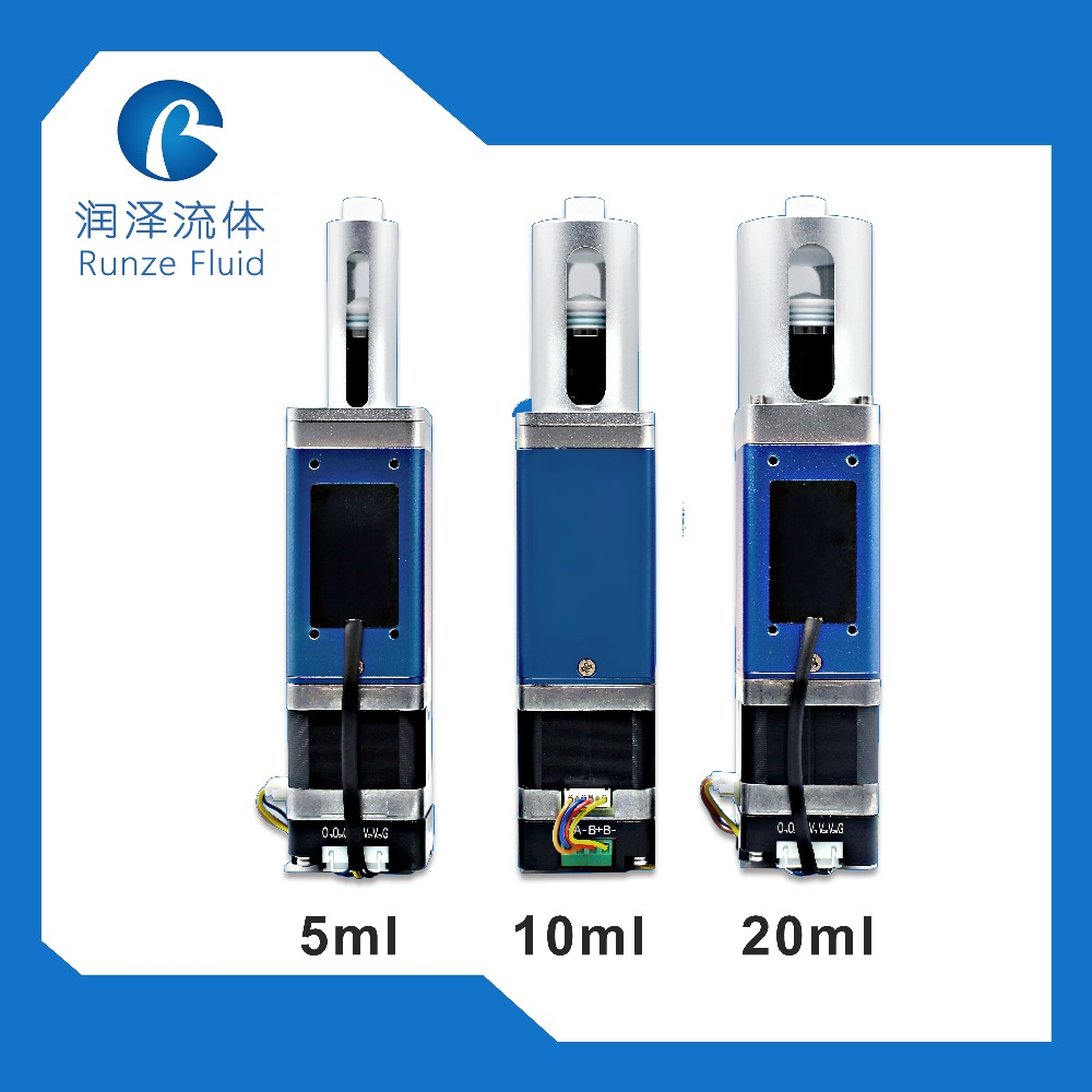 10ml Programmable Software Control Laboratory Syringe Pump with Driver
