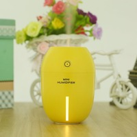 180ml Air Humidfier USB Air Purifier Freshener With LED Lamp Aromatherapy Diffuser Mist Maker For Home
