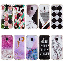 Soft Phone Cases For coque Samsung J3 Fitted Case sFor Samsung Galaxy estojo J3 2016 2017 2018 J4 Plus J5 J510 J6 J7 J710 J8(China)
