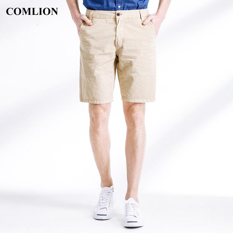2018 New Arrival Summer Casual Shorts Men Cargo Work Male Plus Size Fashion Style Short Pants Cotton Military High Quality F8