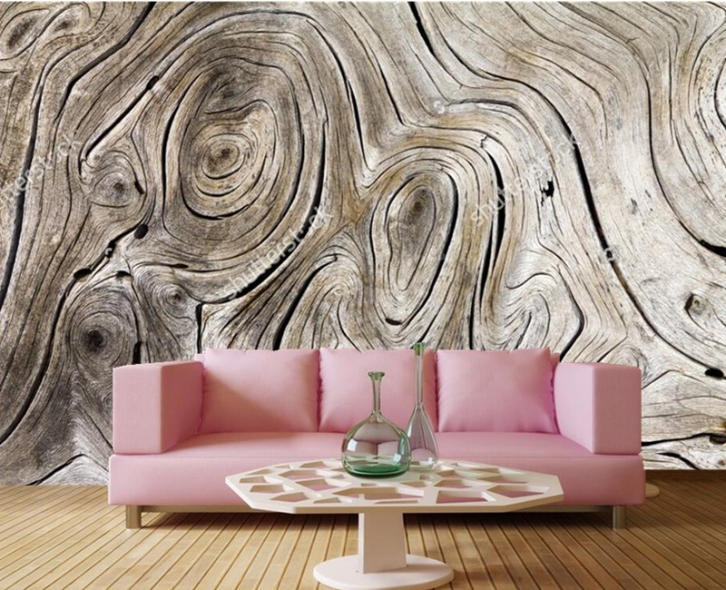 Custom Vintage wood texture 3d vinyl wallpaper papel de parede,restaurant livng room tv sofa wall bedroom 3d wallpaper mural цена 2017