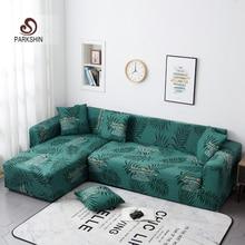 Parkshin Mode Blatt Schutzhülle Stretch Sofa Abdeckungen Möbel Protector Polyester Sofa Couch Abdeckung Sofa Handtuch 1/2/3/4  sitzer