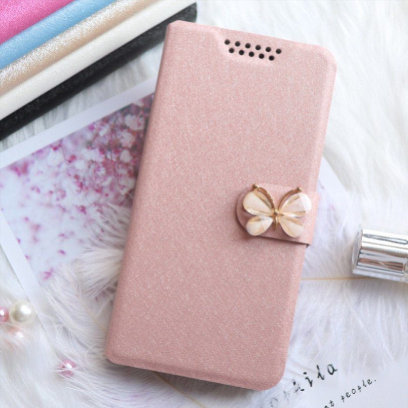 Silk Leather Case for <font><b>Asus</b></font> <font><b>Zenfone</b></font> GO ZB500KL ZB500KG X00AD ZB551KL X013DA X013DB G550KL ZB552KL <font><b>X007D</b></font> Wallet Flip Cover Case image