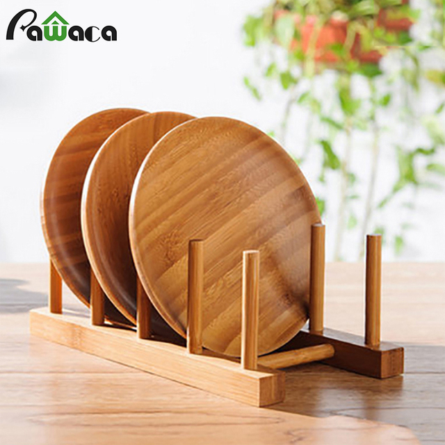 Merveilleux 6/4/3 Layer Bamboo Dish Rack Drainboard Drying Drainer Storage Holder Stand  Kitchen