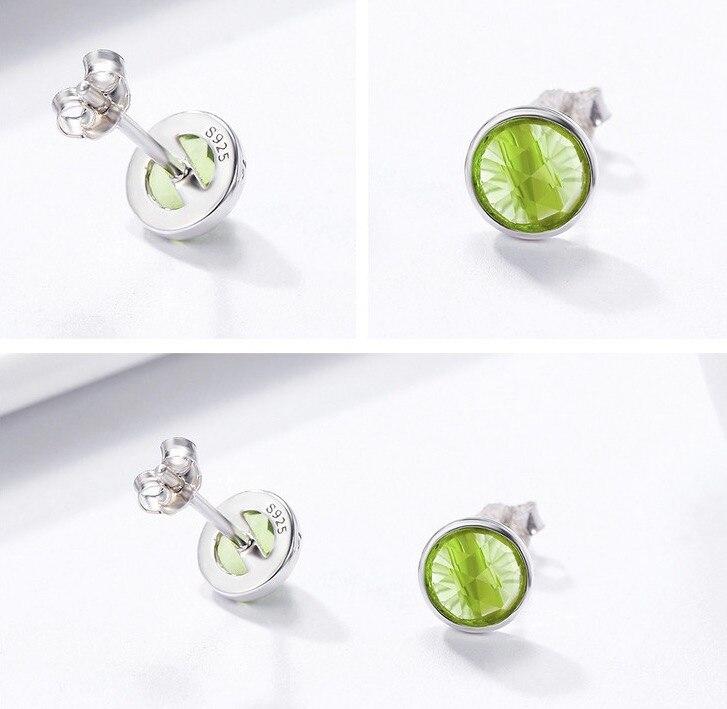 PE 30% Diana Luxury Women's Nice Crystal Zircon Inlaid Ear Stud Earrings For Women Girls
