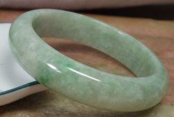 Zertifiziert Honig Grün 100% Natürliche EIN stein stoneite Armreif Armband 56mm 425459