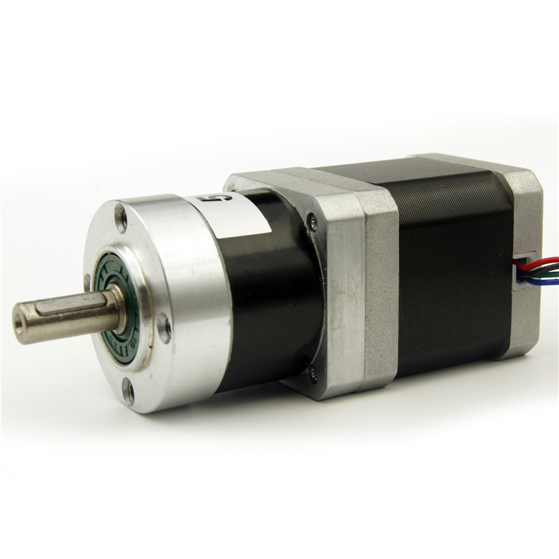 4 wire NEMA17 Planetary Geared Stepper Motor Gear Ratio 1:5 motor length 47mm 1.2A