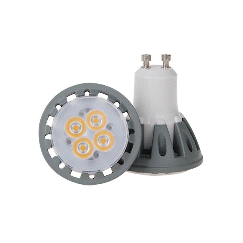 Ac100-265v GU10 5 Вт высокое Мощность низкая confumption smd led лампы пятно света лампы теплая/День Белый Супер дело! Инвентаризации оформление