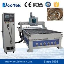 AccTek 2017 Cheap 1325 1530 2030 2040 cnc engraving machine cnc router wood ATC linear atc wood cnc process center