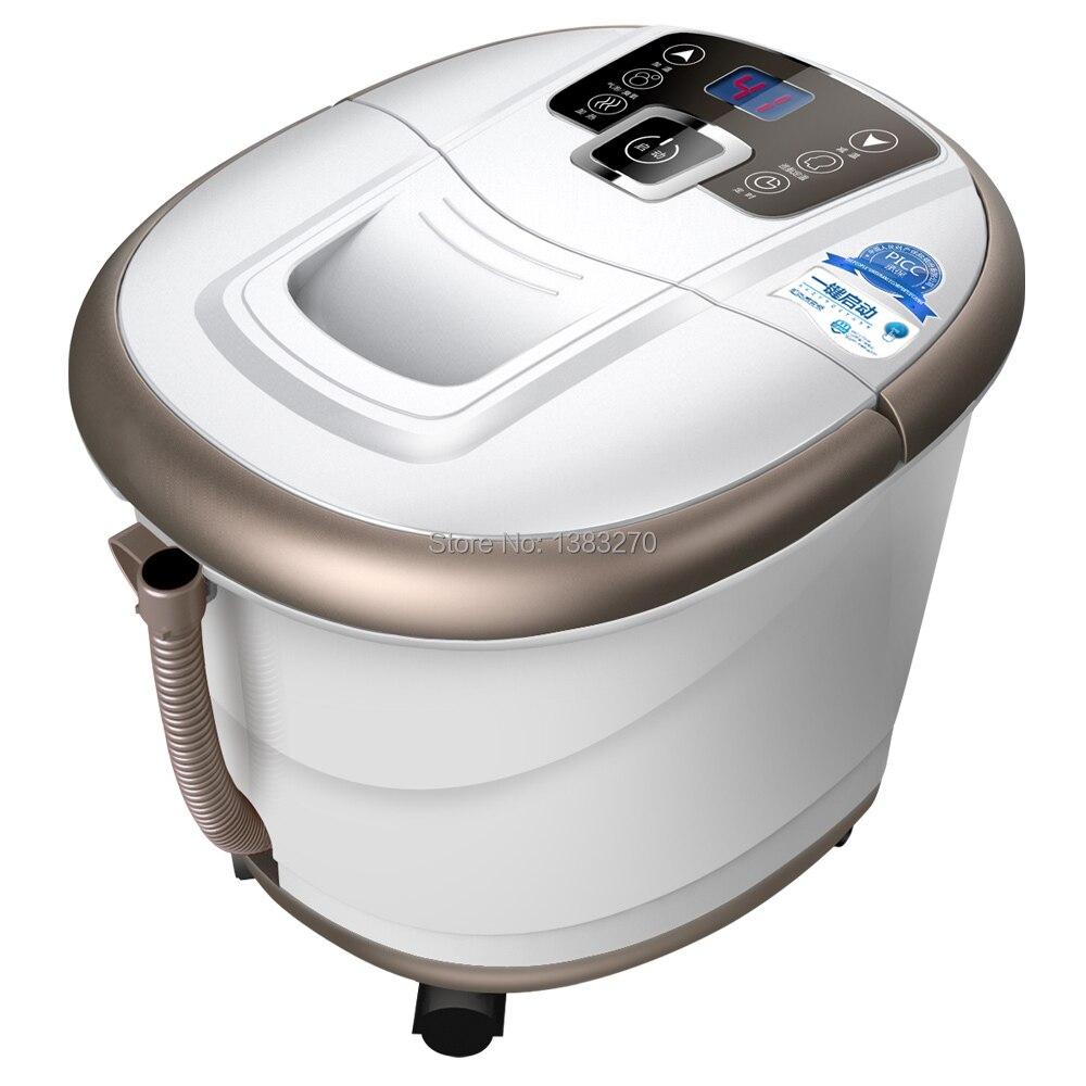 2017 Przenośne wysokiej jakości bezpieczne Ogrzewanie stóp kąpiel masaż stóp umywalka stóp narzędzia do pielęgnacji urody