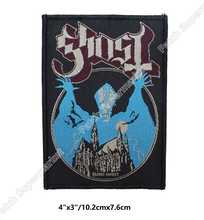 Ghost BC Opus Eponymous Patches Album Art Heavy Metal Music Woven Sew On Applique Swedish Doom metal Hard rock Psychedelic rock - DISCOUNT ITEM  10% OFF All Category