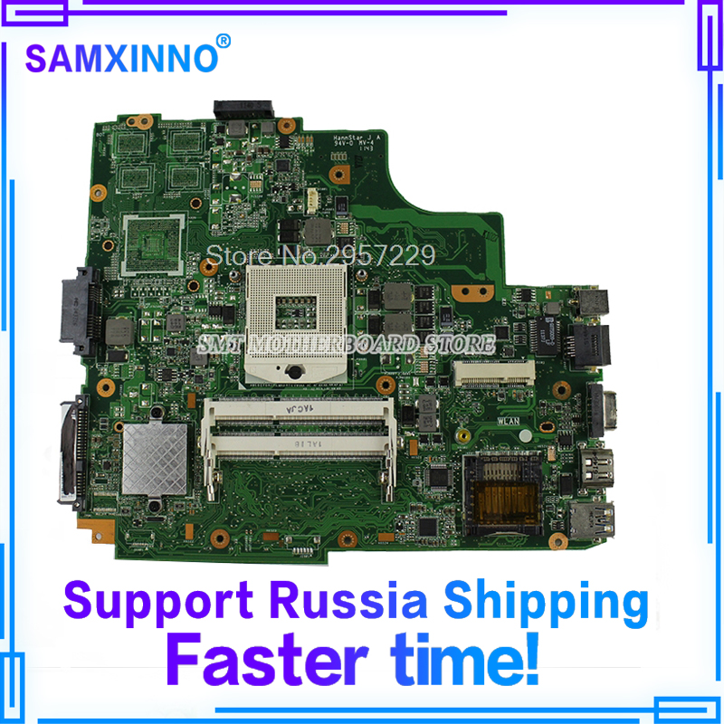 K43E Motherboard REV:2.2 HM65 For ASUS K43SD X43S A43S K43S K43SJ laptop Motherboard K43E Mainboard K43E Motherboard test OK used for asus k43sv k43s k43sj a43s a84s x43s k43sm laptop motherboard rev 4 1 usb3 0 gt540m 2gb mainboard fully tested