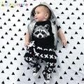 Baby Boy Chándal Verano Niño Ropa de Moda de Impresión De La Historieta Niños Ropa de La Muchacha Top + Pant 2 unids conjunto infantil Otoño equipo BC1238